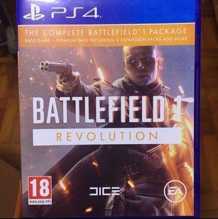 PS 4 Complete Battlefield 1 Revolution