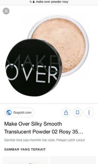 Make Over Translucent Powder 06 Buttermilk