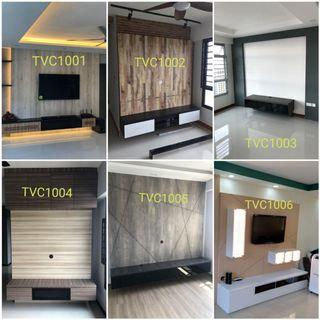 Tv console with feature wall direct from factory 93393838