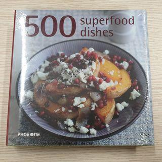 500 superfood dishes (cook book) (recipes)