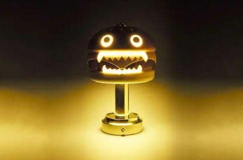 Undercover hamburger lamp MEDICOM TOY 漢堡包燈