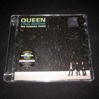 CD Queen & Paul Rodgers. Cosmos Rocks.
