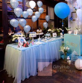 【Rent】Tulle Table Skirting