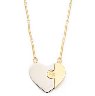 Tory Burch 心心頸鏈 Necklace Puzzle Heart