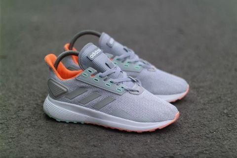 Sepatu Adidas duramo 9 grey whtie