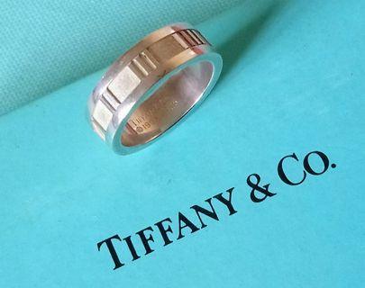 Tiffany & Co. 羅馬數字紋 戒指