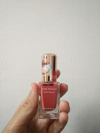 Miniso nail polish (nude orange)