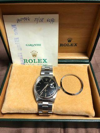 Rolex Oysterdate Precision  6694 W/ Original Box and Paper. Rare 🔥🔥