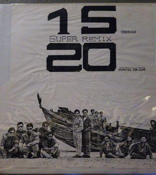 Raidas 大話西遊 15 20 Super Remix 白版宣傳黑膠碟