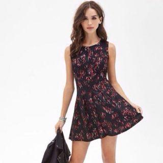 #EndgameYourExcess F21 floral rose dress