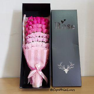 BN 51 Soap Roses Bouquet Giftbox