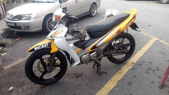 Yamaha 125Z Kuning Sabit