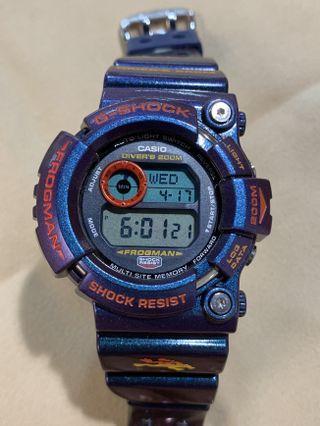 特價 中古 二手 G-Shock Frogman GW-201-6 Snake Killer limited edition 毒蛙