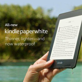 Kindle Paperwhite 4 2018 All-new Waterproof 8GB WiFi