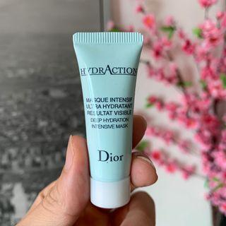 Dior Hydraction Deep hydration intensive mask