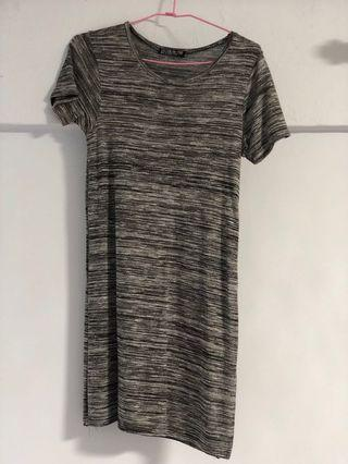 🚚 Grey T-shirt Dress