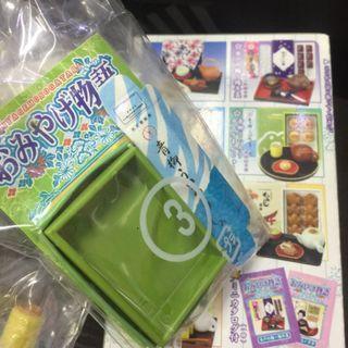 Megahouse 2006 和菓子 食玩 no.3 青柳総本家 青蛙和菓子  一款 / 微型食物 (可配合 Re-ment, Blythe )