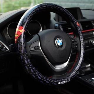 BN Leather Steering Wheel Cover