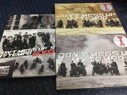 [WTS] EXO DON'T MESS UP MY TEMPO ALBUMS