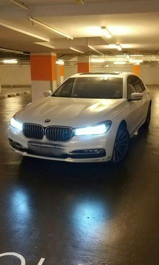 ONLY 1 in Singapore - BMW 730LD (long wheelbase diesel)