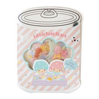 Little Twin Stars Sanrio 日本版 貼紙25張 罐頭圖案包裝 (包平郵或本地郵局自取)