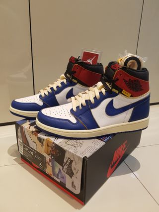 newest collection 38cba d6259 Union z Jordan, Men s Fashion, Footwear, Sneakers on Carousell