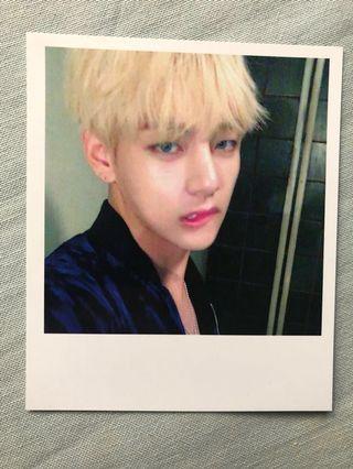 BTS Taehyung WINGS Polaroid