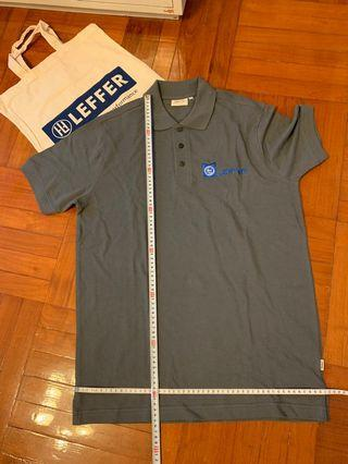 HAKRO polo shirt men-M size 長75cm濶50cm