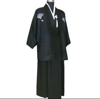 男 日式 和服 size L