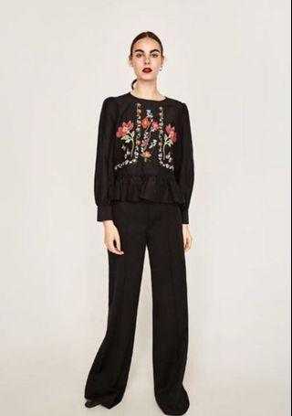 Zara embroidery