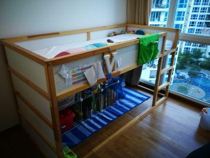 Ikea Bunk Bed- must go by Wednesday!