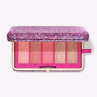LIFE OF THE PARTY CLAY BLUSH PALETTE & CLUTCH #RAYAPHONE