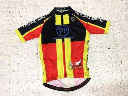 Red/Yellow Race Cycling Jersey