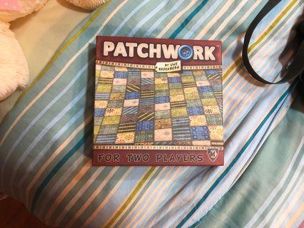 🚚 Patch work board game