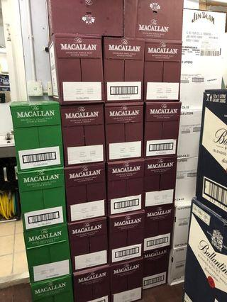 Macallan 12 舊裝 每支