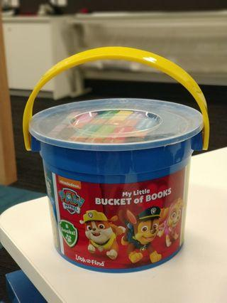 My Little Bucket of Books - Paw Patrol NEW