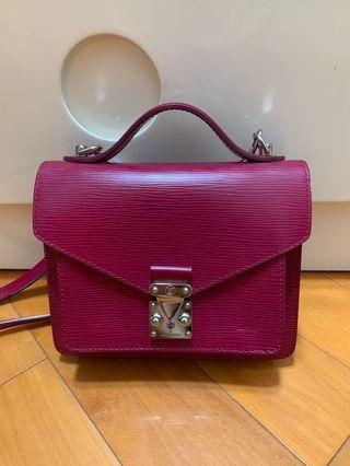 LV Monceau BB mini messenger bag