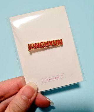 SHINee Jonghyun SMTOWN Giftshop Pin