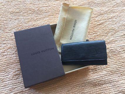 Authentic Louis Vuitton EPI key pouch