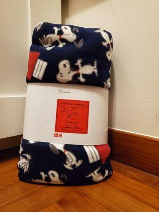 Uniqlo Snoopy Fleece Blanket