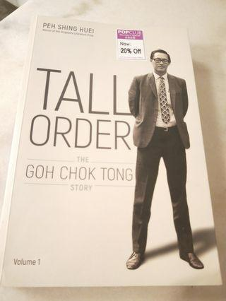 🚚 Tall Order The Goh Chok Tong Story