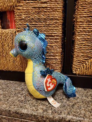 Beanie Baby Neptune Seahorse