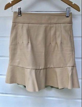 Bardot Leather Skirt