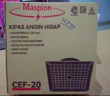 Kipas Angin / Hexos 8 inch