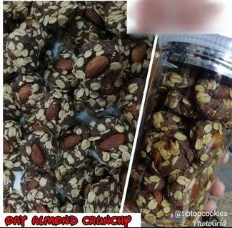 🚚 ALMOND OATS CRUNCHY.(PREORDER). RAYA COOKIES. ORDER YOURS NOW!