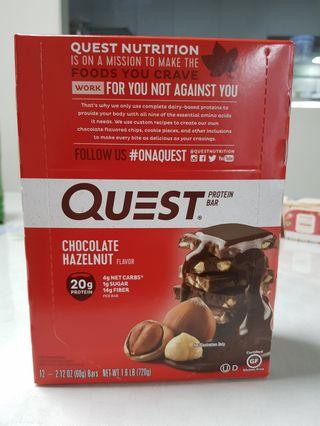 Quest Nutrition, Protein Bar, Chocolate Hazelnut, 12 oz (60 g)