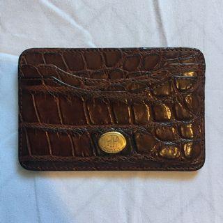 Porosus Genuine Leather Card Holder