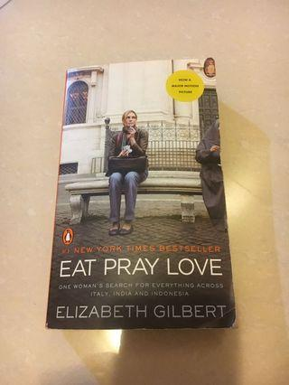 Eat Pray Love - English books
