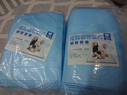 Pee pads for rabbits/dogs/cats/guinea pig AVAILABLE