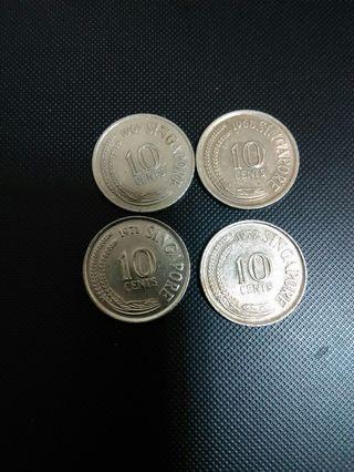 1967 68 71 72年星加坡—毫